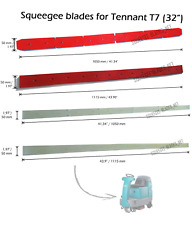 """Squeegee blades for Tennant T7 (32"""") floor scrubbers. FREE WORLDWIDE SHIPPING!"""