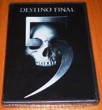DESTINO FINAL 5 Final Destination 5 - English Deutsch Español DVD R2 Precintada