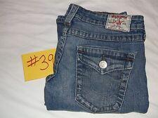 Women's True Religion Joey Size 27 Twisted Flair Boot Flap Pocket U.S.A.