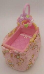 Fisher Price Loving Family Dollhouse Baby Nursery Crib Pink Toy Pretend Toddler