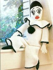 CLASSIC Mime Clown/Doll/Toy/ Crochet Pattern INSTRUCTIONS ONLY