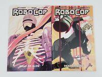 Robocop:Dead Or Alive Vol. 1 & 2 by Joshua Williamson - Boom Studios - MGM