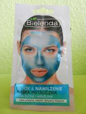 (3,74/10g) BIELENDA Blau DETOX Gesichtsmaske mit Platin, Kohle und Magnesium 8g