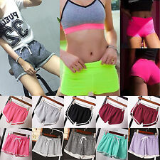 Womens Summer Gym Sports Shorts Hot Pants Casual Workout Fitness Jogging Running