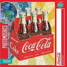BUFFALO GAMES PHOTOMOSAICS JIGSAW PUZZLE COCA-COLA, OF COURSE! 1000 PCS #11273