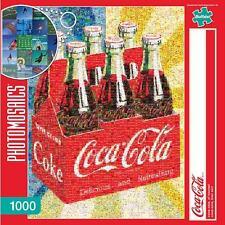 BUFFALO GAMES PHOTOMOSAICS JIGSAW PUZZLE COCA-COLA, OF COURSE! 1000 PCS #11273