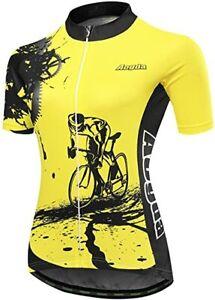 Aogda Cycling Jersey Biking Shirts Top Full Zip