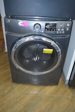 """Ge Gfd45Gspkdg 27"""" Diamond Gray 7.5 Cu Ft Front Load Gas Dryer Nob #26378 Dex"""