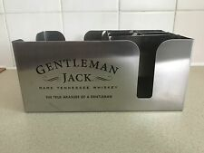 JACK DANIEL'S GENTLEMAN JACK STAINLESS STEEL  CADDY 2017 EDITION