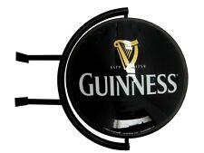 "Guinness 20"" Globe Rotating Pub Lighted Sign Distributor Authentic Item - NIB"
