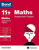 Bond 11+: Maths: Assessment Papers 7-8 years by J. M. Bond 9780192740120