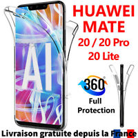 COQUE ETUI HOUSSE PROTECTION HUAWEI MATE 20 LITE PRO 360 TPU SILICONE INTÉGRAL