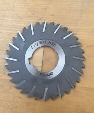 "3"" x 1/8"" x 1"" - HSS Slitting Saw"