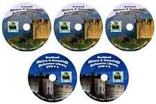 618 Books Ireland & Scotland history & genealogy 5-Dvds
