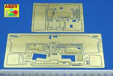 ABER 35050 - 1/35 PHOTOETCHED FOTOINCISIONI STEYR RSO mit PAK.40 (vol.2 cabin)