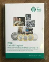 2020 Royal Mint 13 Coin Annual Set Folder Pack Tokyo Olympics Team GB 50p New UK
