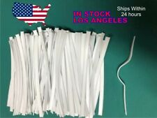 DOUBLE WIRE TWIST TIES NOSE GUARD 50-1000 PCS FOR FACE MASK OR DIY CRAFT PROJECT
