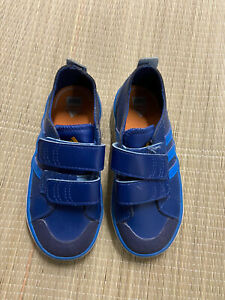 Boys Size 8K adidas Eco Ortholite Sneakers EUC Shoes Blue