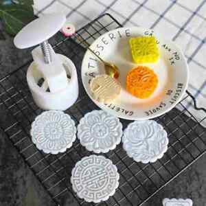 Moon Cake Pastry Mold Press Mould Mooncake Cookies Decoration NEW