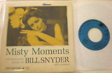 SESAC DJ PROMO EP Bill Snyder Misty Moments AD 73