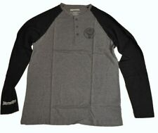 Jägermeister USA T-Shirt à Manches Longues Taille XL Pull Baseball Chemise Noir
