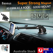 Baseus Universal Magnetic Car Mount Holder 360 Rotation For Iphone Samsung GPS