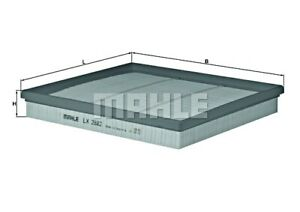 MAHLE Air Filter For CHEVROLET OPEL Cruze Orlando Astra J GTC J300 J305 834196