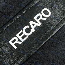 X2 Jdm Recaro Racing Seat Black Pvc Side Cover Repair Decoration Pad Seat Racing