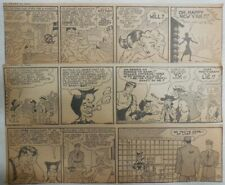 """(256) """"Li'l Abner"""" Dailies by Al Capp from 1941 Size: 3 x 10 inches"""