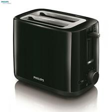 Philips Daily Collection 2 Slice Toaster Black 800W Kitchen Appliances New