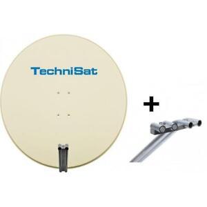 TechniSat EUTELASTRASAT 850, Beige (Antenne Satellite 85 CM Avec