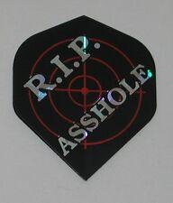 3 Sets RIP *SSHOLE Holographic Standard Dart Flights - FREE SHIPPING 6062