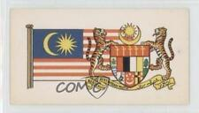 1967 Brooke Bond Flags and Emblems of the World #9 Malaysia Non-Sports Card 1i3