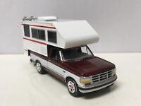 1993 93 Ford F-150 W/Camper Collectible 1/64 Scale Diecast Diorama Model