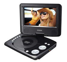 "SYLVANIA SDVD7073 7"" 180° Swivel Screen Portable DVD Player Rechargeable AC Plug"