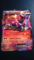 Carte Pokemon DEMOLOSSE 21/162 EX Ultra Rare XY8 Française NEUF
