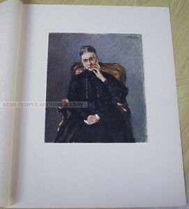 MAX LIEBERMANN - COLOR FACSIMILE * LIMITED EDTION 1/200 PRINT from 1917 art