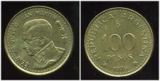 ARGENTINE  100 pesos 1979  ( JOSE SAN MARTIN )  ( bis )