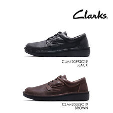 Clarks Nature II Leather Men Casual Lace Up Lifestyle Derby Shoes Pick 1
