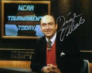GFA NCAA ESPN Basketball Announcer DICK VITALE Signed 8x10 Photo D7 COA