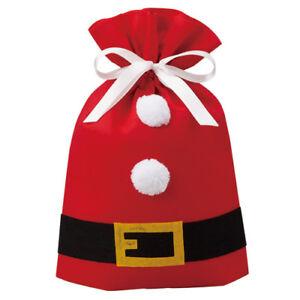 Christmas Felt Santa Suits Bag