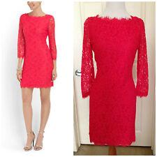 """NWT $348 Diane Von Furstenberg  DVF """"Zarita"""" Dress in Tulip 2"""