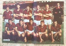 manifesto Milan 1970 ca con Rivera Trappattoni Ed.Baggioli 23/6