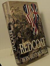 Redcoat by Bernard Cornwell - First edition - Revolutionary War