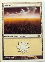 PLAINE - TERRAIN DE BASE PLAINE - VF CARTE MTG MAGIC