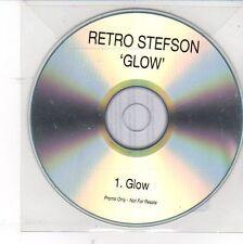 (DV109) Retro Stefson, Glow - 2013 DJ CD