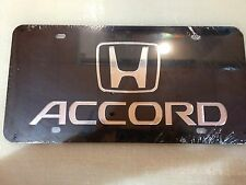 Honda Accord Stainless Steel License Plate