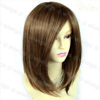 Wiwigs Faceframed Medium Bob Dark Brown & Blonde Mix Ladies Wig