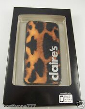 for Iphone 4 g & gs phone case leopard spots bling Claires i phone  pretty