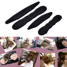 4x Magic mousse éponge clip Hair Style Twist Tool Donut chignon bigoudi Maker